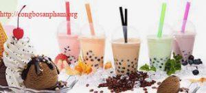 Công bố chất liệu nguyên liệu trà sữa nhập khẩu