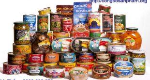 công bố sản phẩm cá hộp nhập khẩu