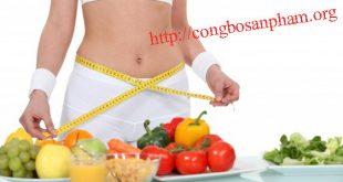 công bố sản phẩm giảm cân