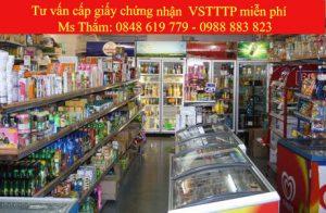 Giấy phép vệ sinh an toàn thực phẩm cho hệ thống các Siêu thị, Cửa hàng tiện ích