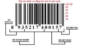Đại An dịch vụ đăng ký Mã số Mã vạch